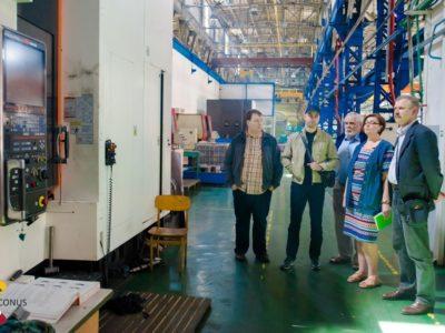 Daugavpils Lokomotīvju Remonta Rūpnīca apmeklējums