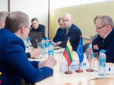 Projekta ietvaros notika Daugavpils Universitātes un Šauļu Universitātes darba grupu tikšanās (26.-27.02.2018)